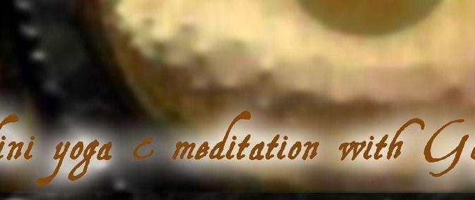AUTUMN 2013 yoga classes and courses