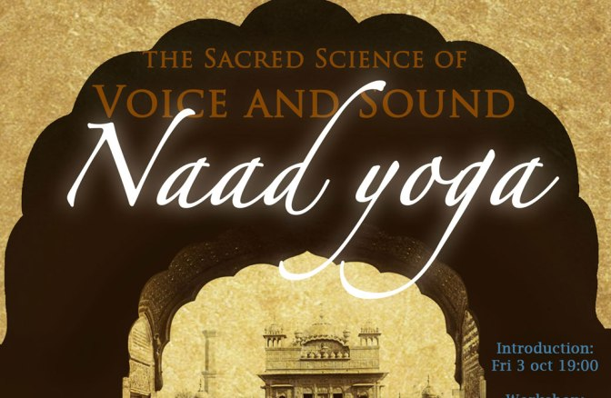 Naad yoga workshop 3-5.oct by Siri Ram K Khalsa (IT)