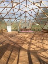 Geodeetiline kuppel, kus suvel toimuvad õpetused Rajamaal